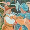 521. Two Soldiers and a Fallen Tree, detail